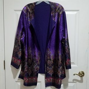 Stylish Reversible Cardigan